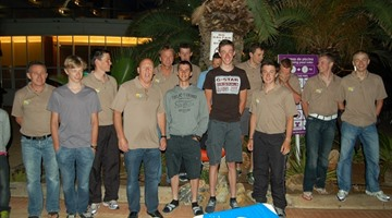 Telenet Fidea cycling team - Mojacar mei 2011